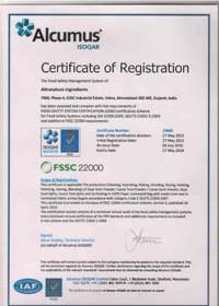 FSSC-22000-CERTIFICATE